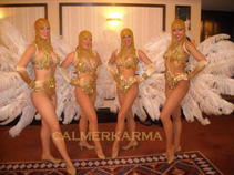GREAT GATSBY THEMED ENTERTAINMENT - FEATHER SHOWGIRLS