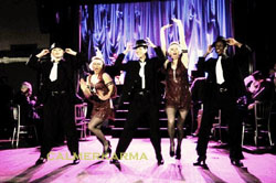 1920s THEMED ENTERTAINMENT - FLAPPER DANCERS AND GANGSTERS
