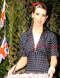 Vintage themed hostesses & Usherettes ; BEST OF BRITISH OLYMPIC AND VINTAGE THEMED EVENTS