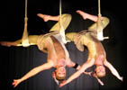 GREAT GATSBY THEMED ENTERTAINMENT - AERIAL ACROBATS - THE FLYING FLAPPERS