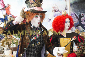 ALICE IN WONDERLAND THEMED ENTERTAINMENT FROM MAD HATTER LOOKALIKE TO ACROBATIC TWEEDLES TO RABBIT STILTS UK