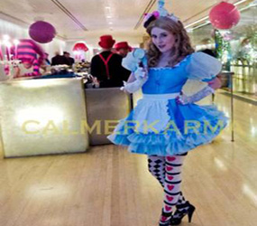 ALICE IN WONDERLAND PARTY ENTERTAINMENT - ALICE LOOKALIKE