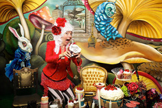 ALICE IN WONDERLAND - CUSTOM BUILT PHOTO BOOTH