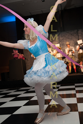 ALICE IN WONDERLAND THEMED ENTERTAINMENT - ALICE BALLET & RIBBON DANCER -STAGED SHOW