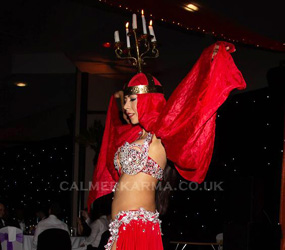 ARABIAN NIGHTS - FABULOUS CANDLE DANCER ACT HIRE UK