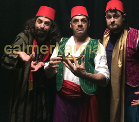 ARABIAN NIGHTS + ALADDIN THEMES COMICAL SOUK PERFORMERS TO HIRE