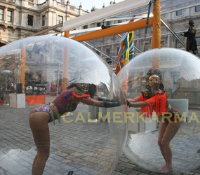 THE ART BALLS- CRAZED ART ACTS HIRE