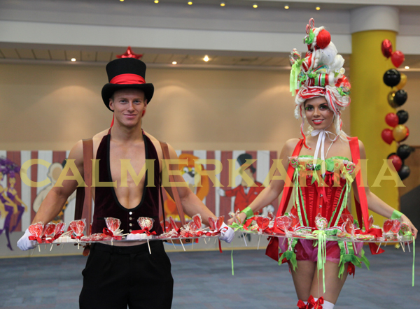 CIRCUS THEMED ENTERTAINMENT - CANDY HOST & HOSTESS