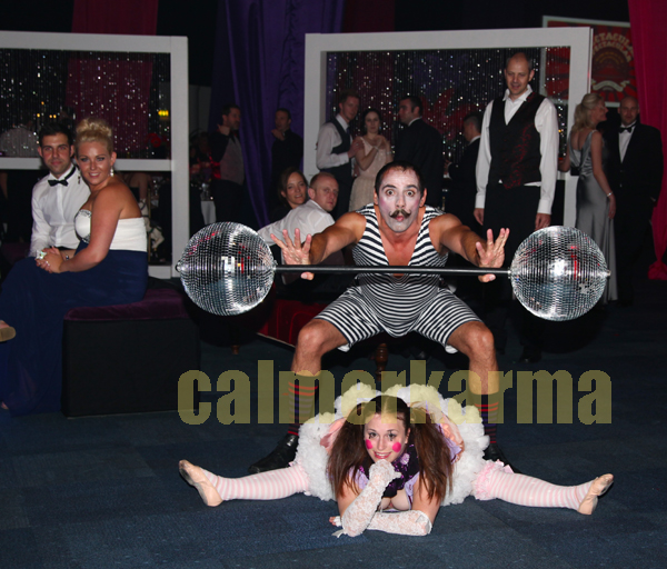 CIRCUS THEMED ENTERTAINMENT - COMICAL STRONGMAN ACT