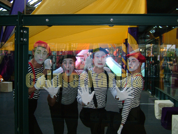 CIRCUS THEMED ENTERTAINMENT -  MIME IN A BOX