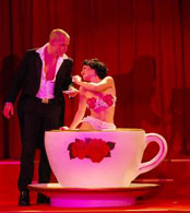 Alice in Wonderland Themed Entertainment -  Burlesque Tea Cup Act