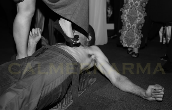 ARABIAN NIGHTS THEMED ENTERTAINMENT -BED OF NAILS ACT TO HIRE