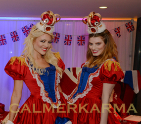 best of british themed entertainment - the Royal Usherettes