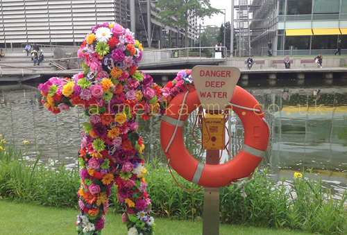FLOWER THEMED ENTERTAINMENT - LIVING FLOWER MAN ACT TO HIRE