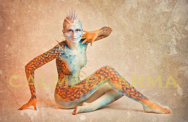 BODY PAINTERS TO HIRE - BEAUTIFUL CREATURES