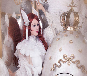 LUXURY BURLESQUE + CABERET ACT- RUSSIAN FABERGE EGG ACT