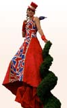 Best of British Themed Stilt Walkers for Royal Jubilee or Olympic themed events
