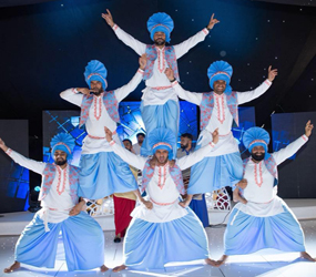 BHANGRA DANCERS -DYNAMIC EXCITING DANCE FOR BOLLYWOOD EVENTS & INDIAN WEDDING ENTERTAINMENT