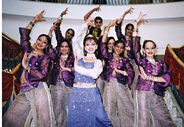 bollywood dance troupes