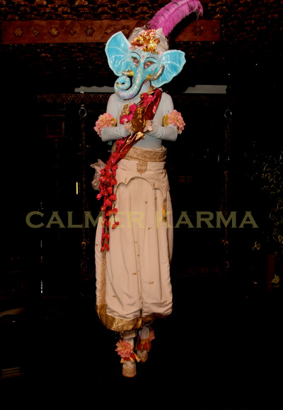 BOLLYWOOD AND INDIAN SUMMER STILTS- THE ELEPHANT GOD STILTS TO HIRE UK