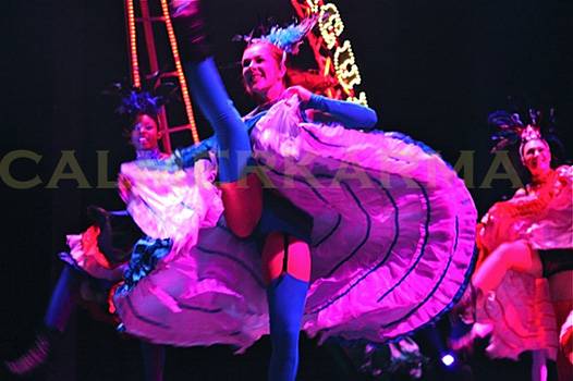 MOULIN ROUGE THEMED ENTERTAINMENT - CANCAN DANCERS UK