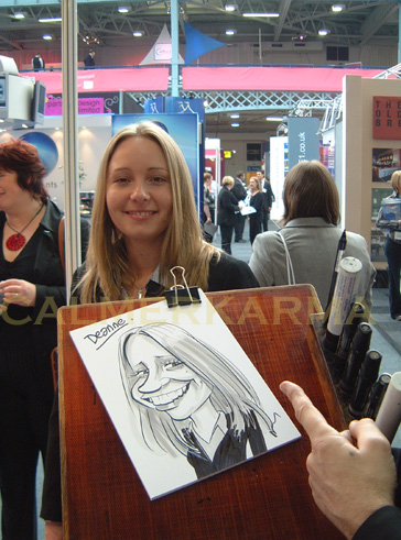 CARICATURISTS FOR EXHIBITION STANDS AND PARTIES