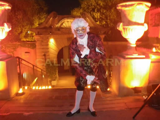 VENETIAN MASKED BALL THEMED ENTERTAINMENT - SNR CASANOVA INTERACITVE ACT