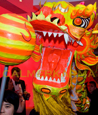 chinese themed acts chinese new year dragon dance