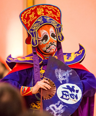 CHINESE NEW YEAR ENTERTAINMENT - FACE CHANGER PERFORMER HIRE UK