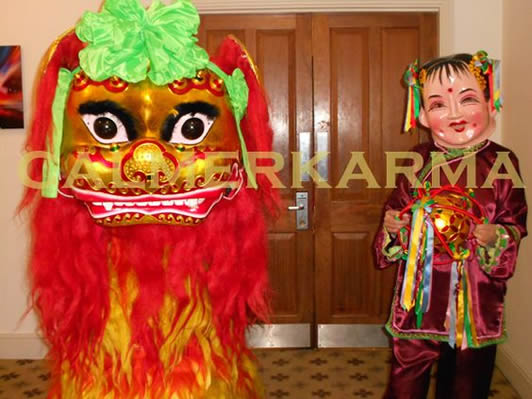 CHINESE ENTERTAINMENT TO HIRE - CHINESE LION DANCE LONDON