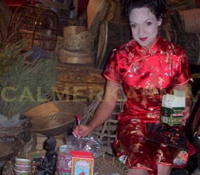 CHINESE THEMED ENTERTAINMENT - CHINESE FORTUNE TELLING - TEA READINGS