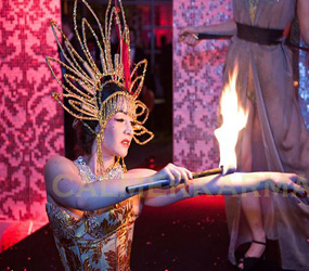 CHINESE THEMED ENTERTAINMENT - CHINESE & ORIENTAL THEMED FIRE ACTS