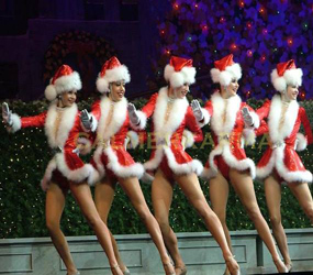 CHRISTMAS PARTY ENTERTAINMENT TO HIRE - SANTA BABY DANCERS