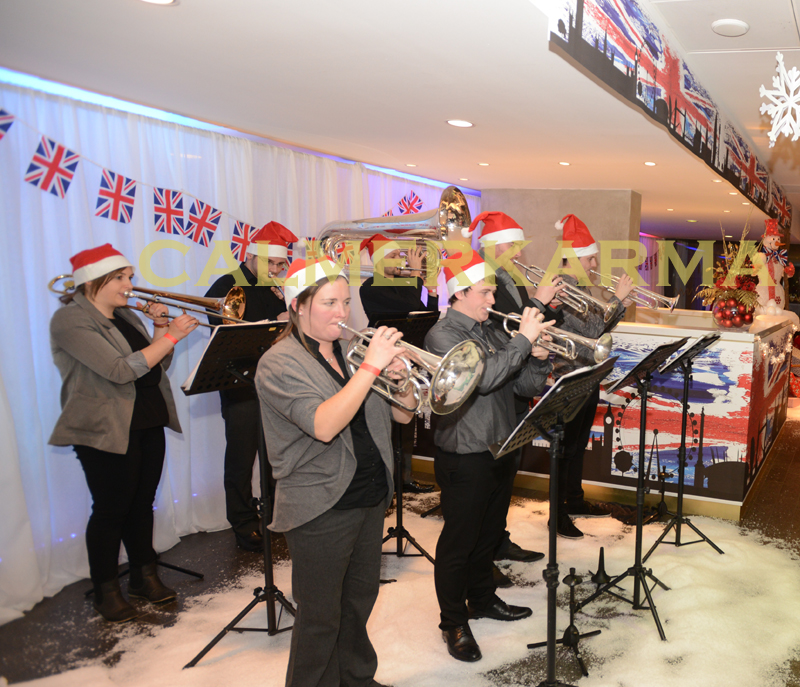 CHRISTMAS THEMED BRASS BANDS TO HIRE FOR SHOPPING CENTRES, PARADES AND XMAS PARTIES