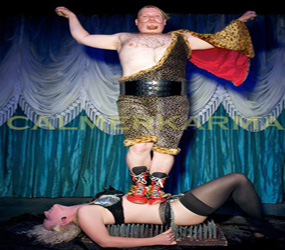 CIRCUS & GREATEST SHOWMAN THEMED ENTERTAINMENT -BED OF NAILS DUO ACT