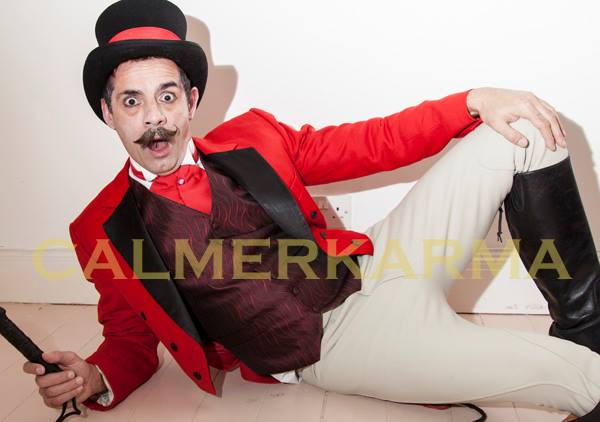 ZIDLER PERFORMER -RINGMASTER-MC-MOULIN-ROUGE+CIRCUS THEMED ENTERTAINMENT