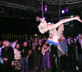 GREATEST SHOWMAN themed entertainment- aerial trapeze acts hire manchester