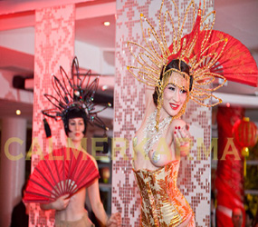 CHINESE THEMED ENTERTAINMENT - ORIENTAL BURLESQUE ACT