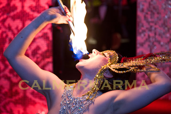 CHINESE THEMED ENTERTAINMENT - CHINESE BURLESQUE FIRE ACT