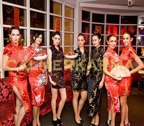 CHINESE THEMED PARTY ENTERTAINMENT - CHINESE HOSTESSES