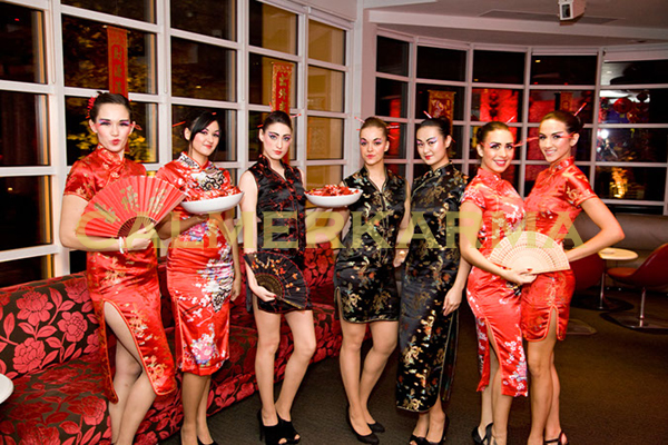 CHINESE THEMED ENTERTAINMENT - CHINESSE HOSTESSES TEAM