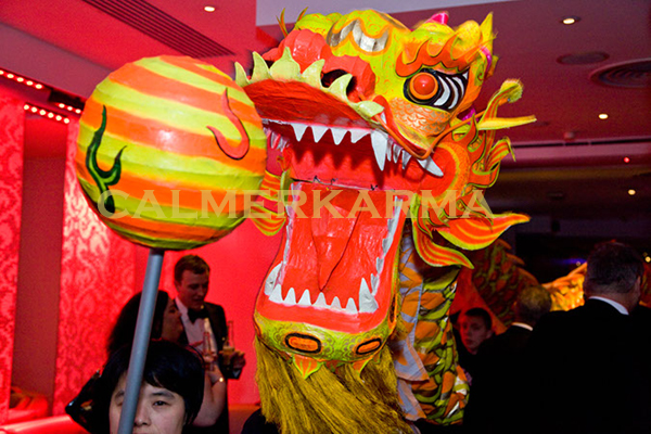 CHINESE DRAGON DANCE ACT -UK