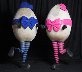 SPRING & EASTER THEMED ENTERTAINMENT THE DANCING EASTER EGGS