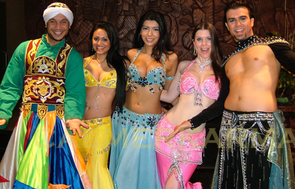 ARABIAN NIGHTS THEMED ENTERTAINMENT - BELLY DANCERS AND DERVISH UK