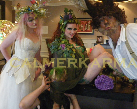 midsummer nights dream- enchanted woodland entertainment to hire