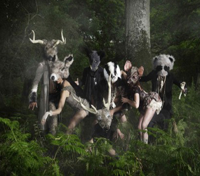 ENCHANTED FOREST - MIDSUMMER- WOODLAND CREATURES WALKABOUT ACTS