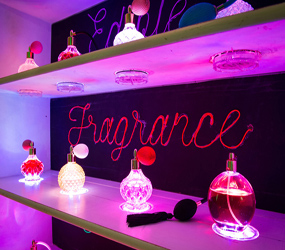 EDIBLE FRAGRANCE INSTALLATION