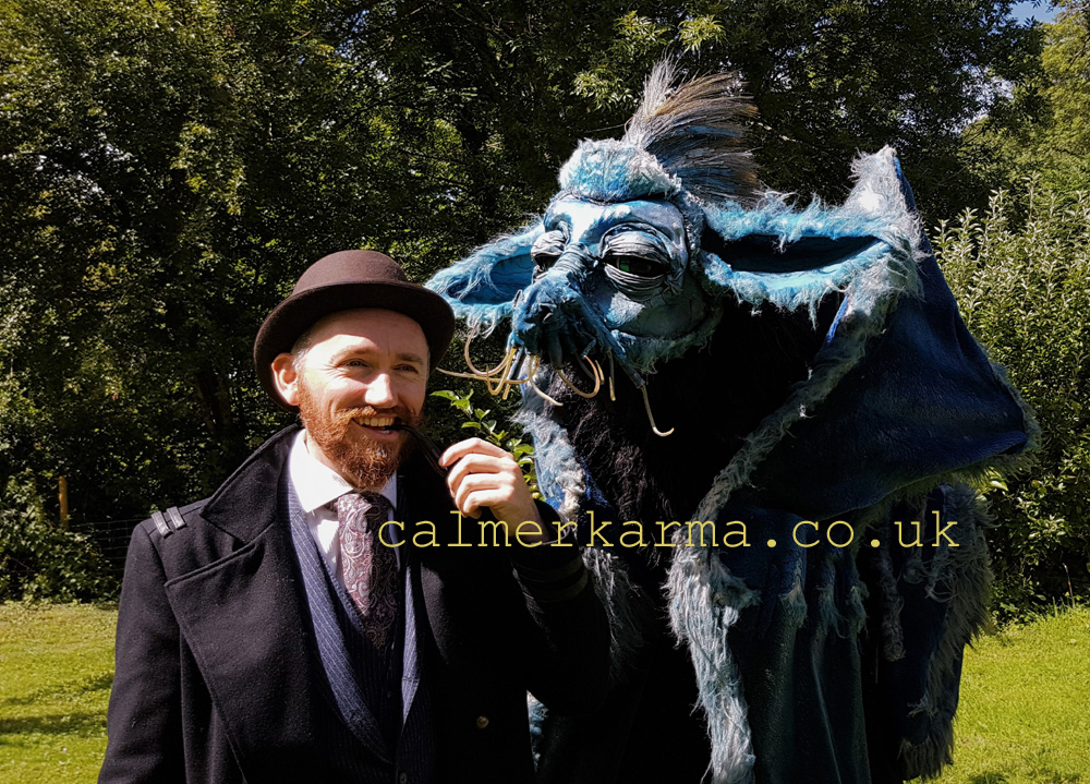MYSTICAL BEAST ACT TO HIRE -PERFECT FOR FANTASTIC BEASTS OR HARRY POTTER THEMED EVENTS