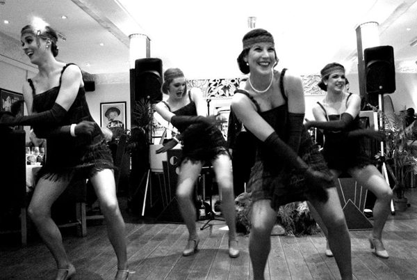 FLAPPER DANCERS - GREAT GATSBY THEMED ENTERTAINMENT -ROARING 20S DANCERS