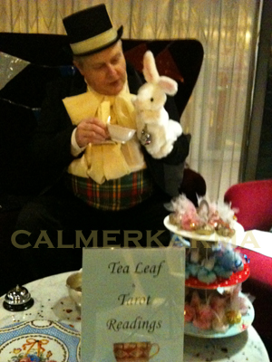 TAROT READERS FOR THEMED EVENTS - MAD HATTER THEMED ACT LONDON AND UK